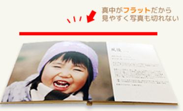フジフイルムのハードカバーの見本画像