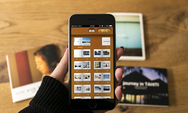 スマホ・アプリで作れるフォトブック